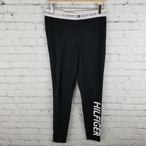 TOMMY HILFIGER | spellout elastic waist leggings